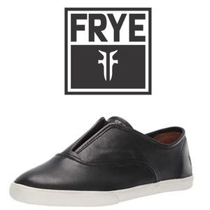 Frye Kerry Slip On Leather Sneakers